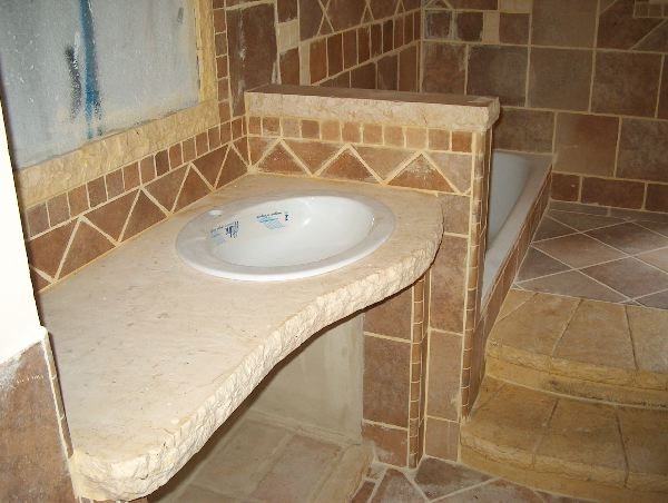 Restauri part lavandino bagno in pietra - Lavandino bagno in pietra ...