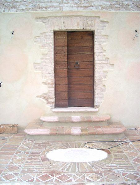 Restauri esterno con part tappeto in muratura - Tappeto esterno ...